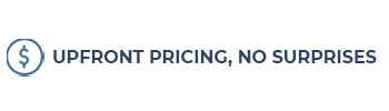 Upfront Pricing, No Surprises