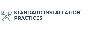 Standard-Installation-Practices